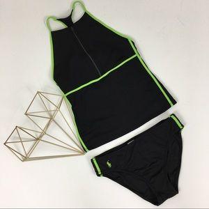 Ralph Lauren Black & Green Swimsuit